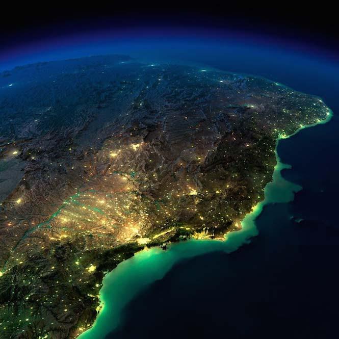 Εκπληκτικές νυχτερινές εικόνες της Γης (24)
