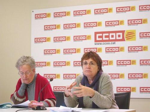 Carme Català i Rosa Bofill, CCOO