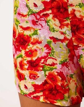 Image 3 ofTo Love Kuvaa Floral Printed Knickershort