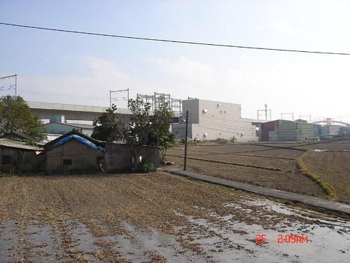 高鐵與農田