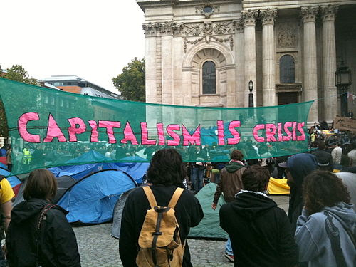 Occupy London banner