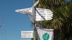 Gisborne Sign