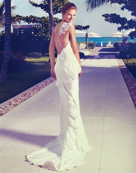 The Sexiest Gowns For Warm Weather Weddings   Weddingbells