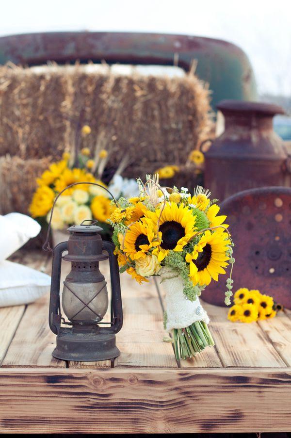 Sunflower Theme Wedd