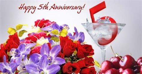5th Year Marriage Anniversary Wishes, Quotes, Images
