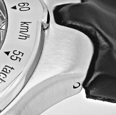 Original-Foto 4, EBEL SPORTWAVE CHRONOGRAPH SPORT WAVE LEDER FALT