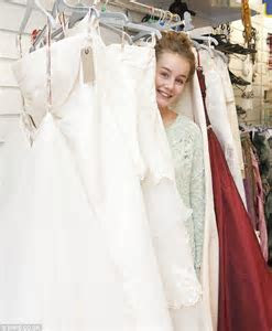 Bargain hunting brides flock to charity shop selling