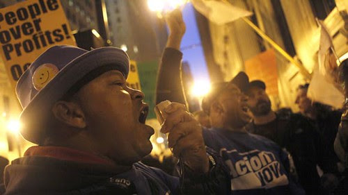 Occupy Chicago protesters have come under attack by the city administration of Rahm Emanuel, the former chief of staff for Barack Obama. Police have jailed organizers for setting up tents in Grant Park downtown. by Pan-African News Wire File Photos