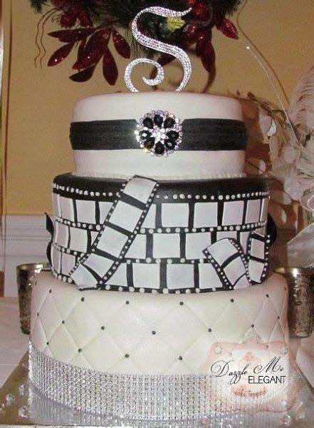 25  best ideas about Old hollywood cake on Pinterest