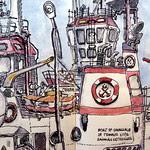 Söndüren, Port of Çanakkale