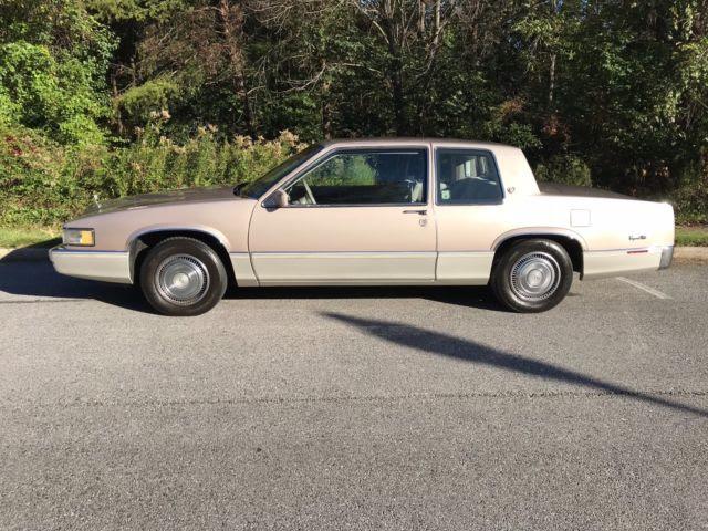 70000 Original Miles 1989 Cadillac Coup Deville Coupe De ...