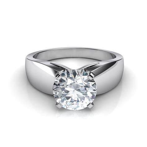 Inexpensive wedding rings: Thick band wedding ring