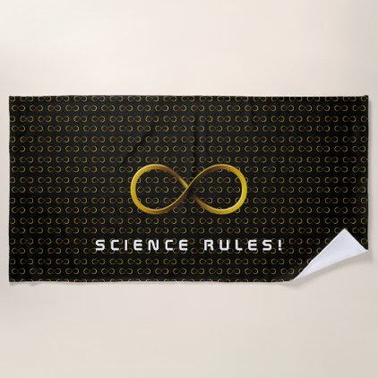 Science Rules | Infinity Geek Gifts Beach Towel