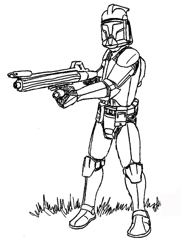Star Wars Coloring Sheets