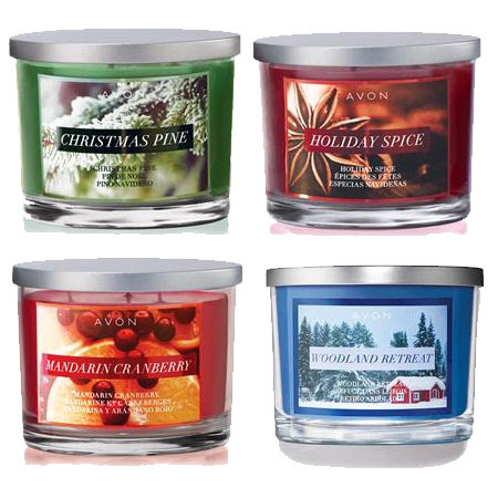 Avon Holiday Home Fragrance Collection candles - The ...