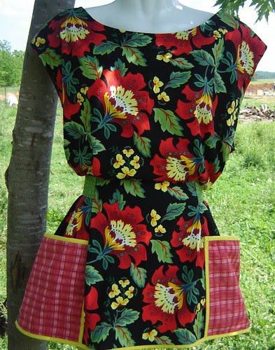 Summer Sassy Apron From Lucy B