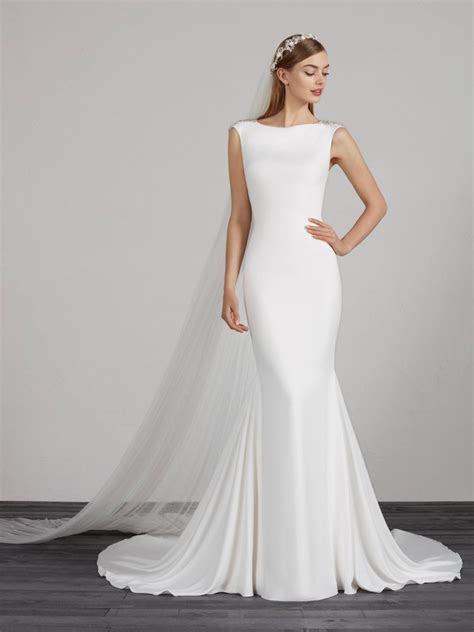 simple wedding dresses bridal gowns pronovias