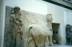 Из дворца короля Саргона II. (Ассирия, 8 век до н.э.)