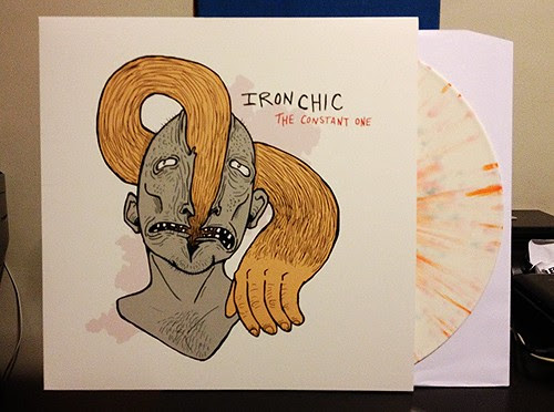 Iron Chic - The Constant One LP - White w/ Splatter Vinyl (/300) by Tim PopKid