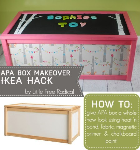 DIY Ikea APA Toy Box