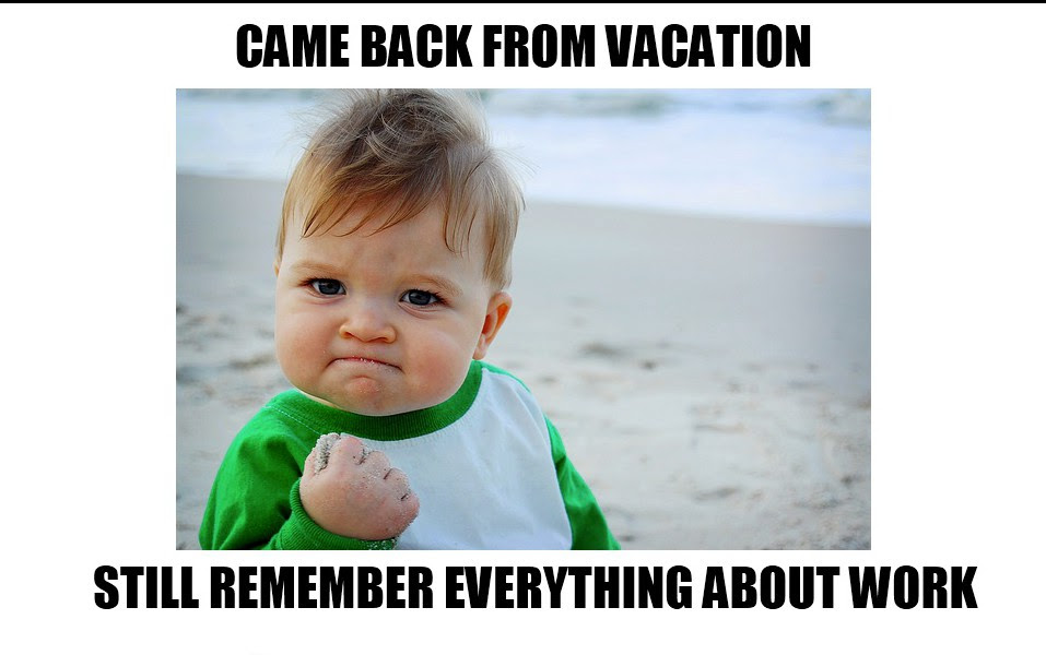 The Best Going Back To Work After Vacation Quotes Soaknowledge