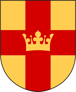 Coat of arms of the Church of Sweden.