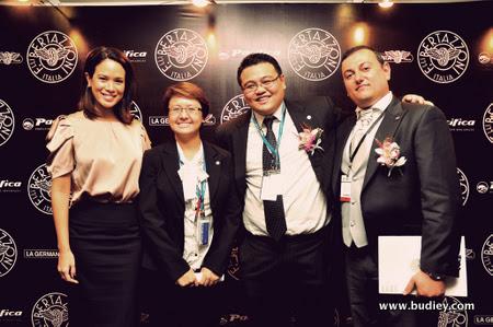 Elaine Daly, Jean, John Cho & Graziano Soliani