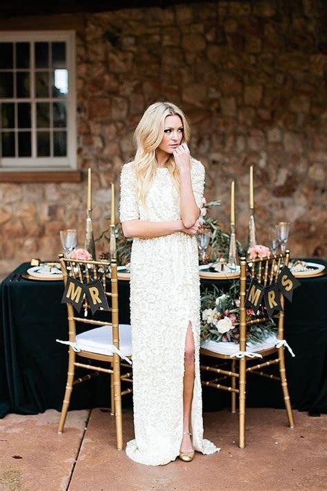 25  best ideas about Sequin wedding dresses on Pinterest