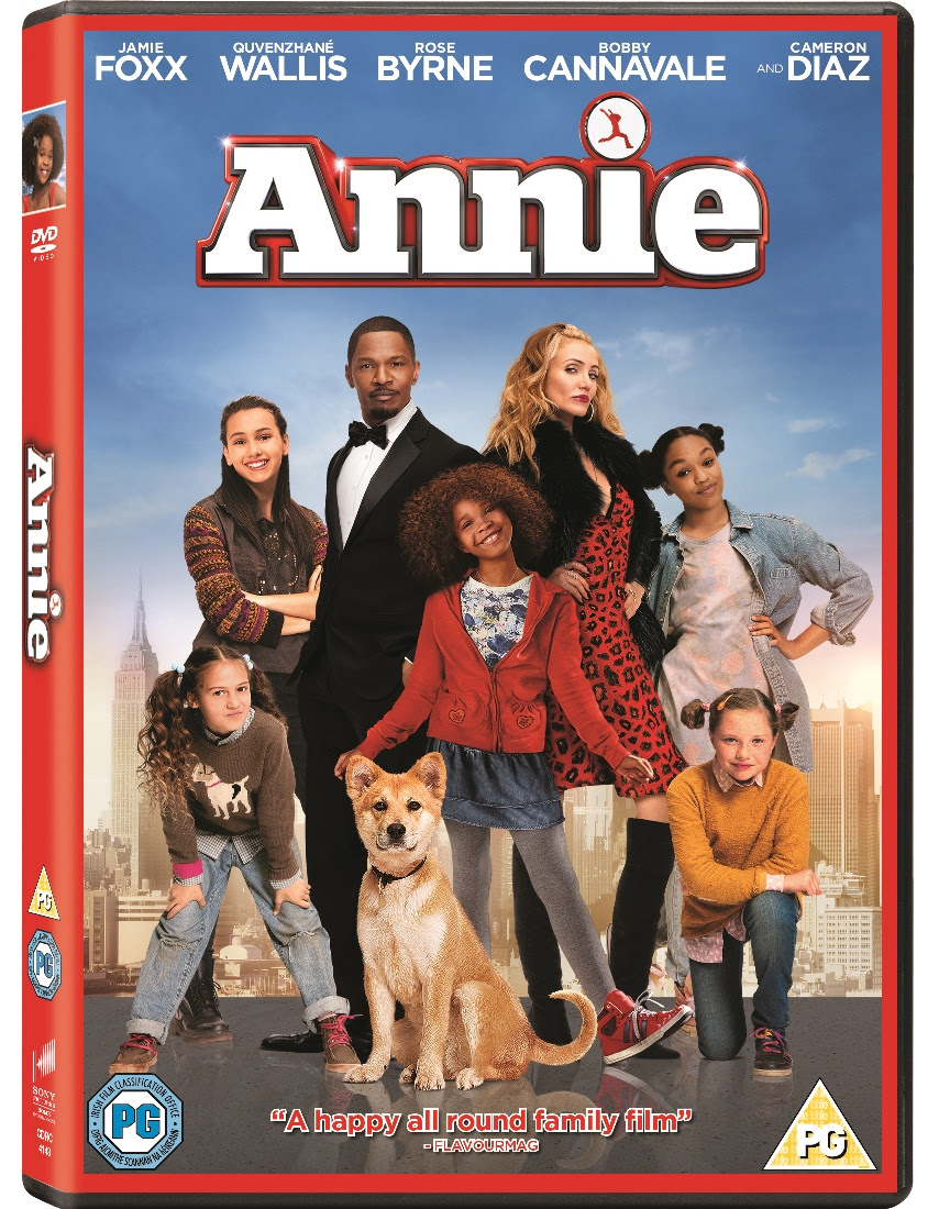 Annie, Blue-ray, DVD, release 27 April 2015