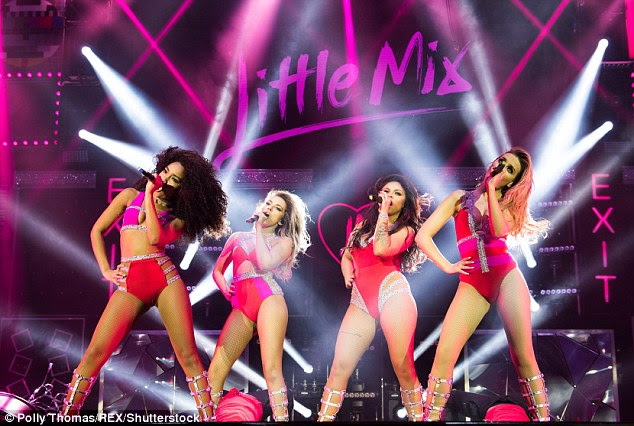 Defending themselves: Jade Thirlwall, Perrie Edwards, Leigh-Anne and Jesy Nelson were blasted by some parents of their young fans for their raunchy looks yet they insist their ensembles are appropriate