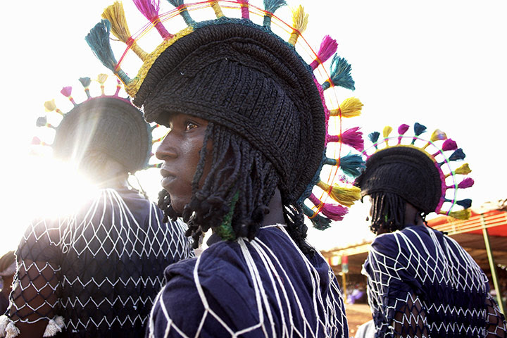 Intangible heritage: A balafon festival of the Senufo people