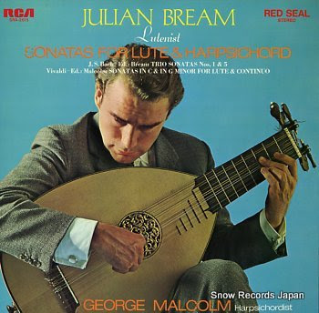 BREAM, JULIAN sonatas for lute & harpsichord