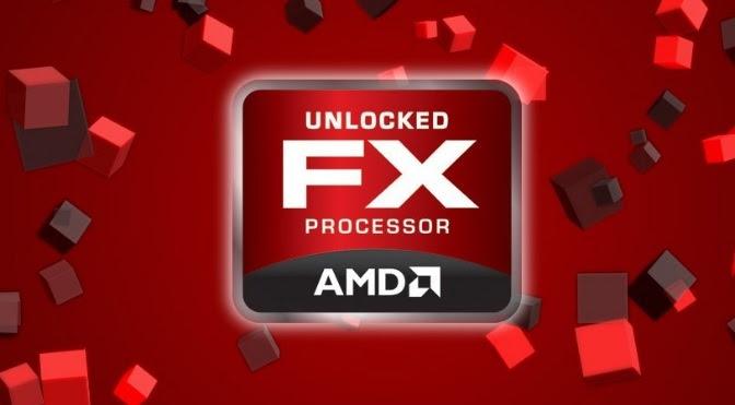 Imagem característica FX AMD