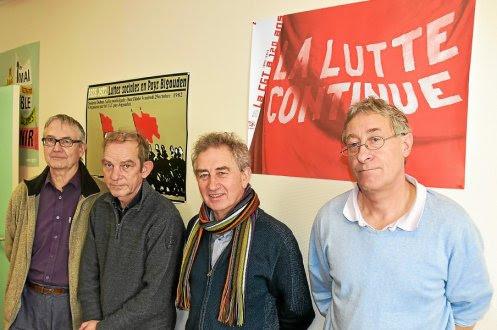 Les syndicalistes CGT de Lannion et Guingamp ont tenu une conférence de presse commune, hier matin, pour présenter la journée de mobilisation de mardi.