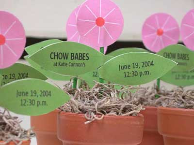 Chow Babe Invitations