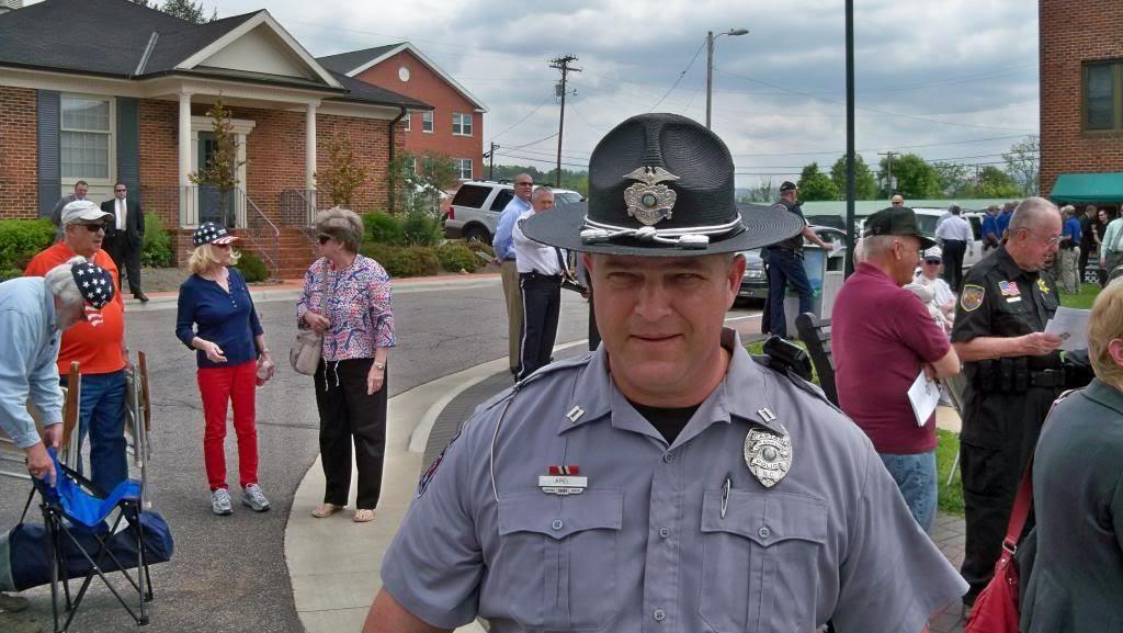 A Franklin Police Officer