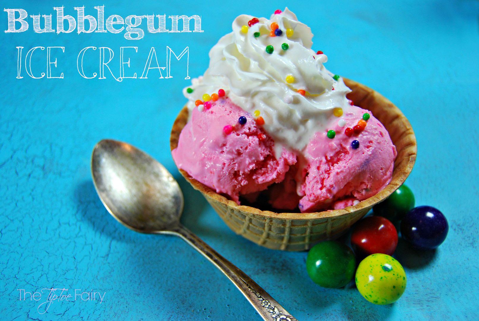 Bubblegum Ice Cream by The Tiptoe Fairy