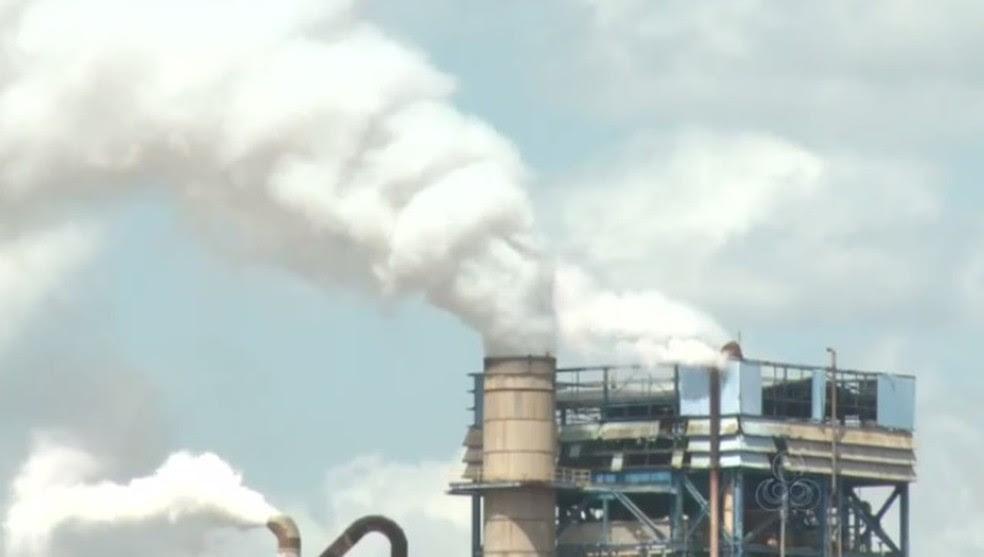 Fábrica da Jari Celulose será investigada (Foto: Reprodução/Rede Amazônica)