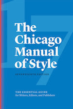 Chicago Manual of Style, 17th edition