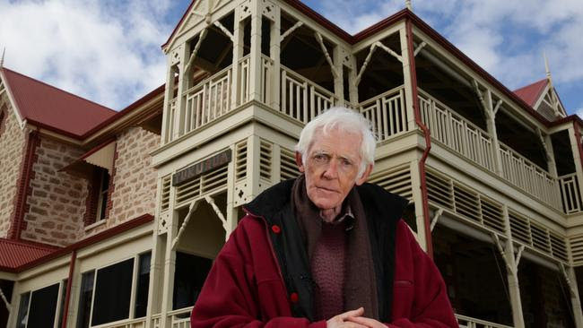 Ted Smith, the elderly owner of Tukurua mansion in Cottesloe.