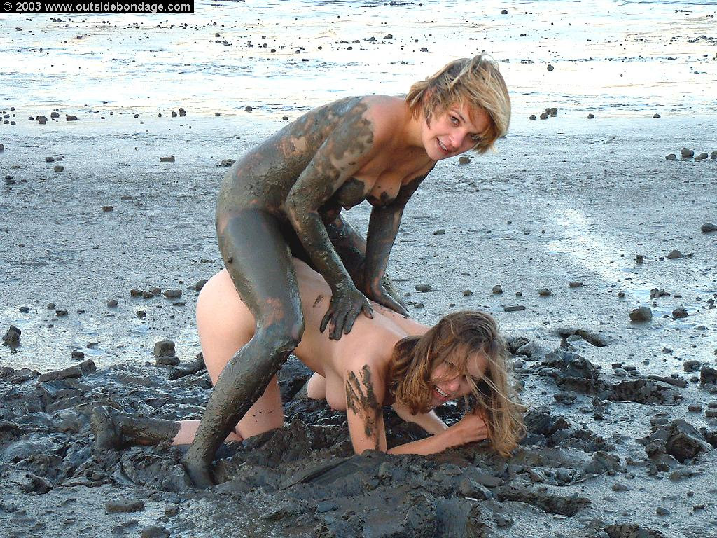 Andrea And Gina In The Mud Exquisite Slave Images, Photos, Reviews