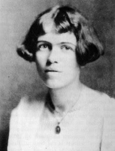 Photo from Blackberry Winter: My Earlier Years. Margaret Mead just before leaving for Samoa in 1925. Photographer unknown.