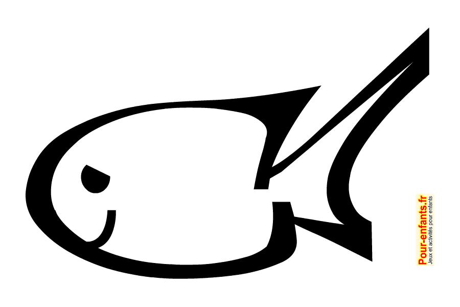 Poisson d'avril 2015 à imprimer et colorier