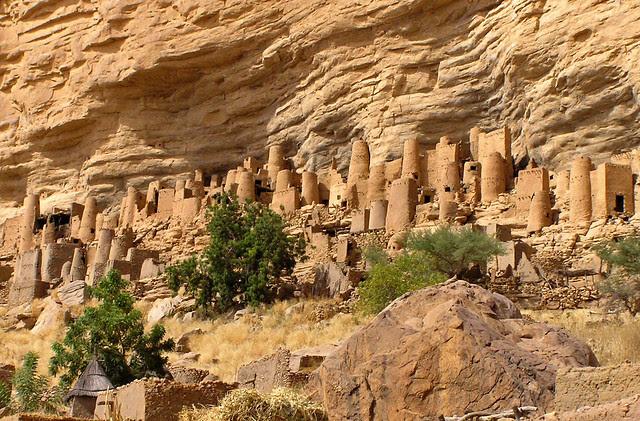 Bandiagara Escarpment