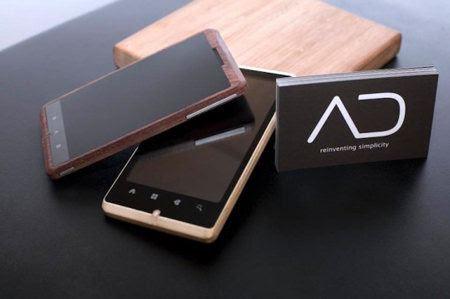 ADzero, un nuevo móvil ecológico hecho de bambú