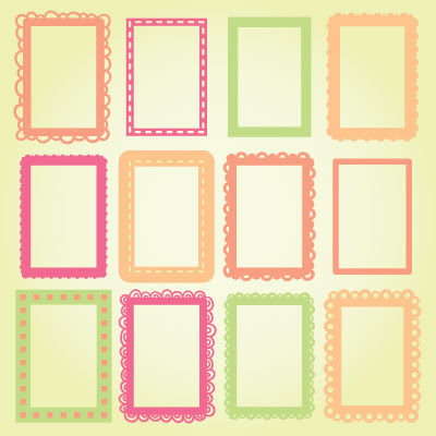4x6 Photo Frames Svg Collection 499 Svg Files For Cricut