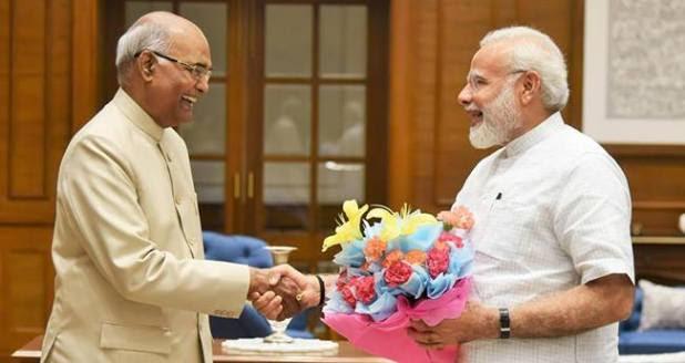 PM Narendra Modi wishes President Kovind's 73rd birth anniversary