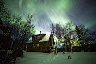 Northern Lights on Christmas Morning