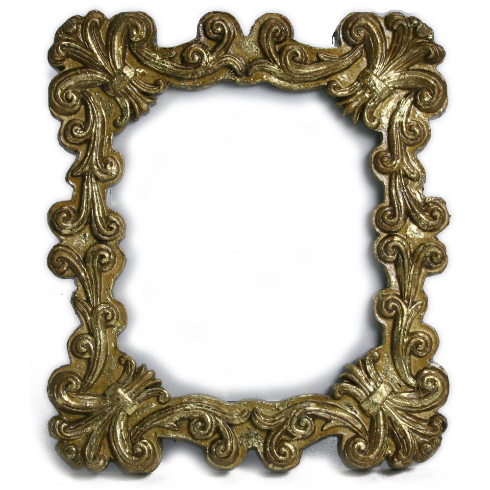 Antique Gold Fleur De Lis Frame Mardigrasoutletcom