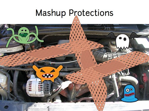 w2sp: Slide 14: Mashup Protections